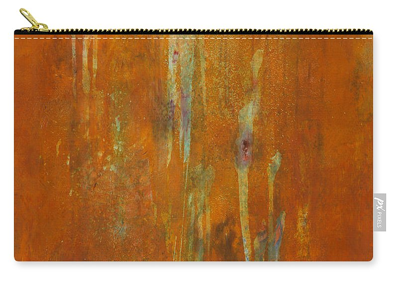 Abstract Carry-all Pouch featuring the painting At Creation by Mark Witzling