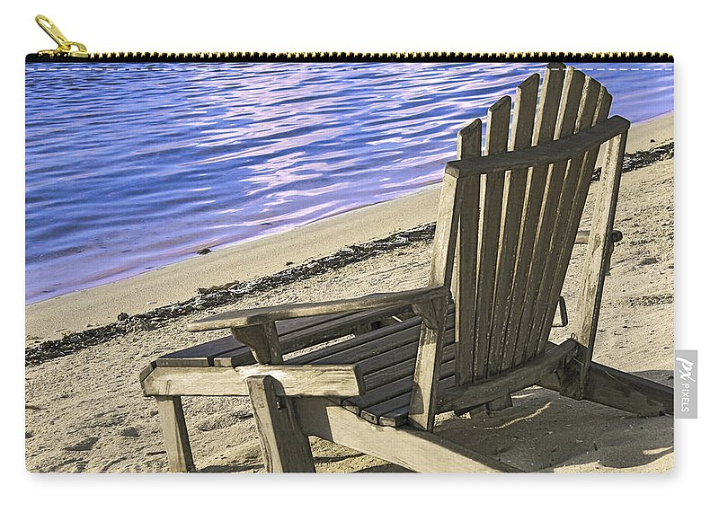 Beach Carry-all Pouch featuring the photograph At Ease by Jean Noren