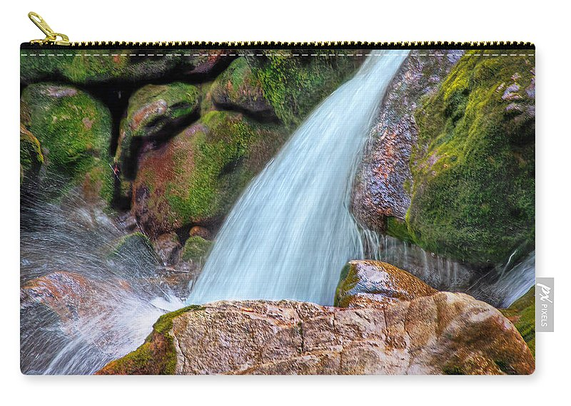 Switzerland Carry-all Pouch featuring the photograph At Stony Creek by Hanny Heim