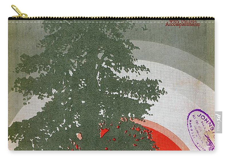 Nostalgia Carry-all Pouch featuring the photograph At Sundown by Mel Thompson