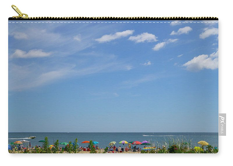 Summer Carry-all Pouch featuring the photograph At The Beach 2 by Ellen Paull
