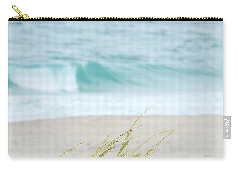 Landscape Carry-all Pouch featuring the photograph By The Sea by Sabrina L Ryan