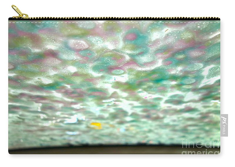 Car Wash Carry-all Pouch featuring the photograph At The Car Wash 1 by Jacqueline Athmann
