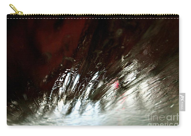 Car Wash Carry-all Pouch featuring the photograph At The Car Wash 13 by Jacqueline Athmann