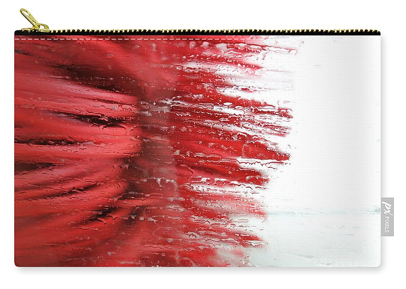 Car Wash Carry-all Pouch featuring the photograph At The Car Wash 6 by Jacqueline Athmann