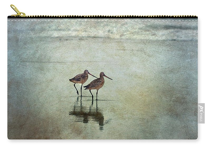 Bird Carry-all Pouch featuring the photograph At The End Of A Day by Maria Ismanah Schulze-Vorberg