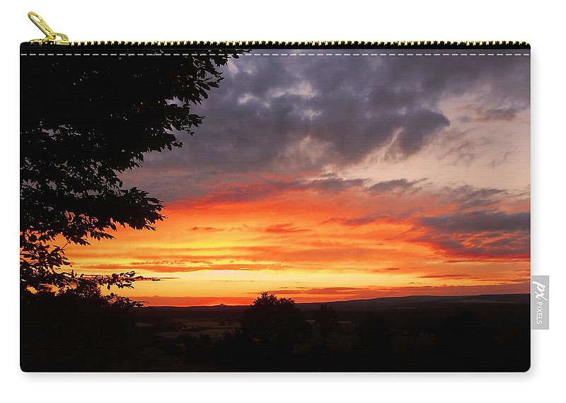 Europe Carry-all Pouch featuring the photograph At The End Of The Day ... by Juergen Weiss