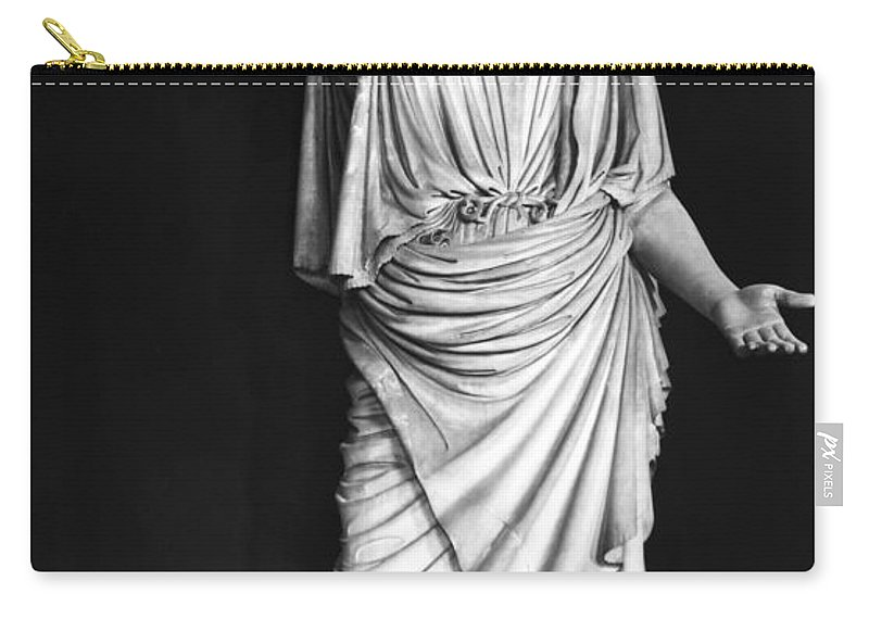 1st Century Carry-all Pouch featuring the photograph Athena Or Minerva by Granger