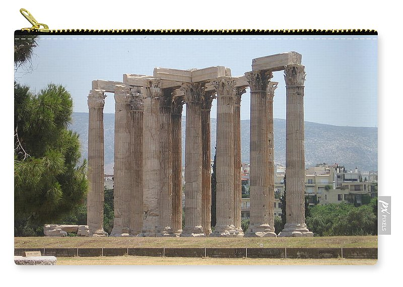 Athens Carry-all Pouch featuring the photograph Athens 1 by Kimberly Maxwell Grantier