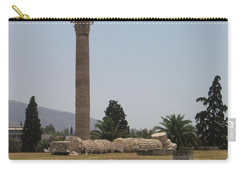Athens Carry-all Pouch featuring the photograph Athens 2 by Kimberly Maxwell Grantier