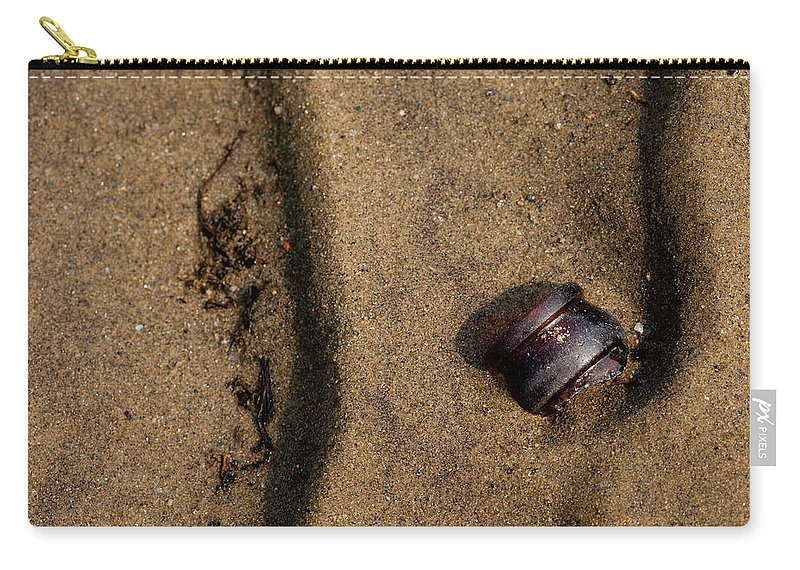 Rivers Edge Carry-all Pouch featuring the photograph Atres 4 by Karol Livote