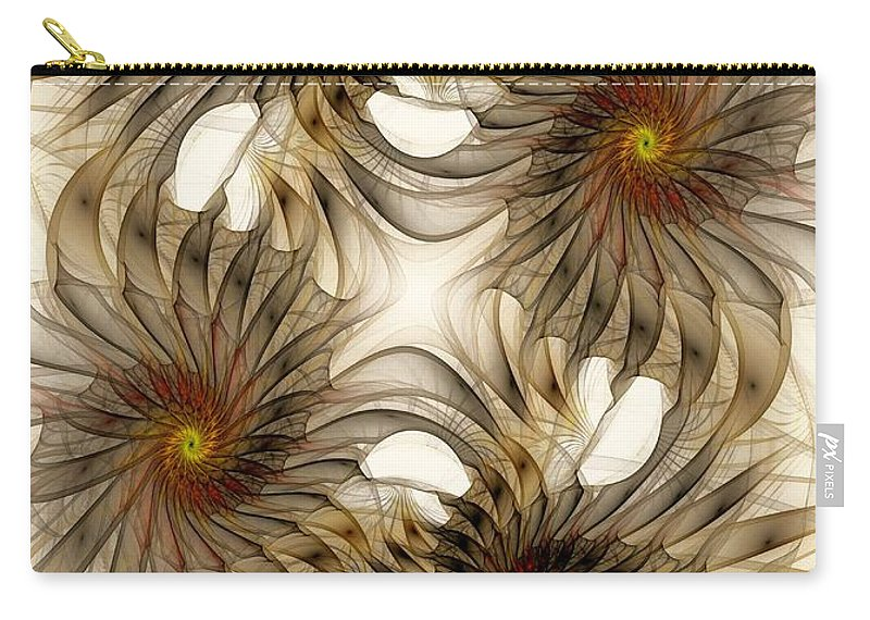 Malakhova Carry-all Pouch featuring the digital art Attachment by Anastasiya Malakhova