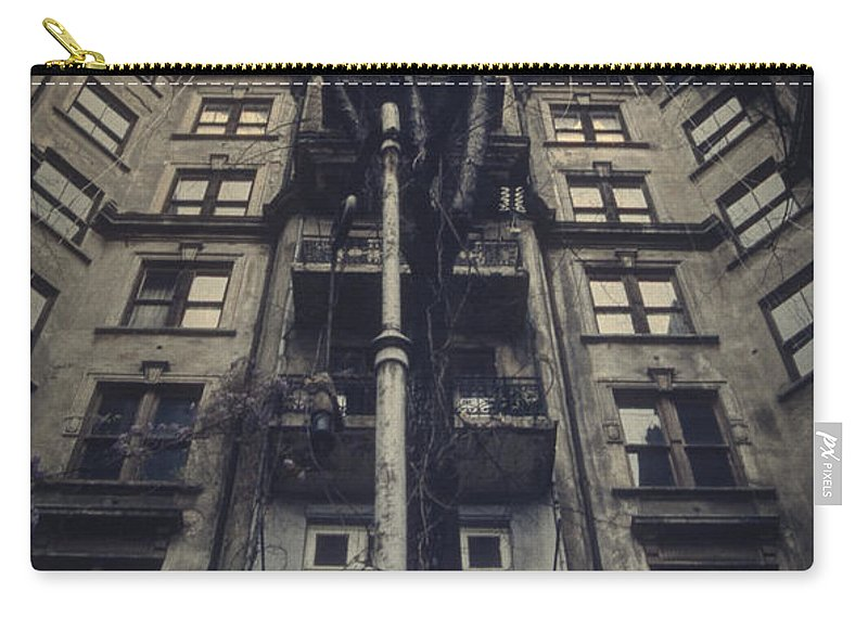 Old Carry-all Pouch featuring the photograph Au Revoir by Zapista