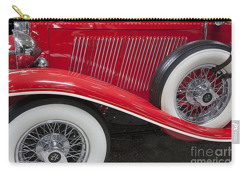 Heiko Carry-all Pouch featuring the photograph Auburn 12-161 Coupe by Heiko Koehrer-Wagner