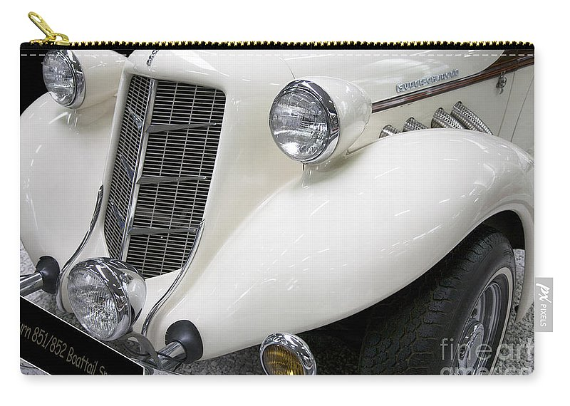 Heiko Carry-all Pouch featuring the photograph Auburn 851/852 Speedster by Heiko Koehrer-Wagner