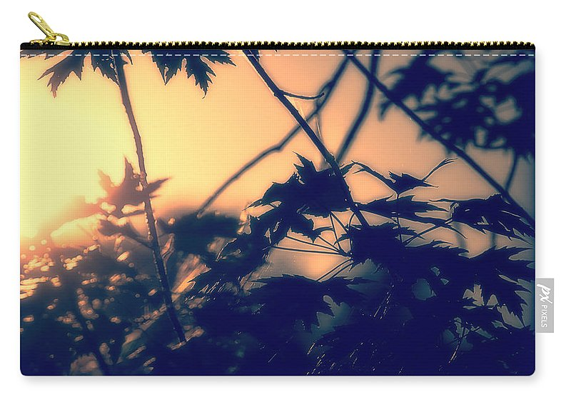 August Carry-all Pouch featuring the photograph August Memories by Bob Orsillo