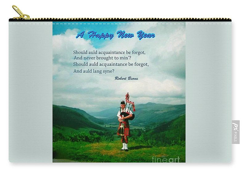 New Year Carry-all Pouch featuring the photograph Auld Lang Syne by Joan-Violet Stretch