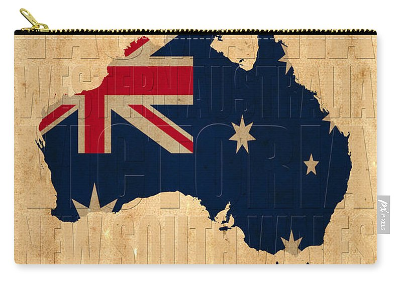 Australia Carry-all Pouch featuring the photograph Australia by Andrew Fare