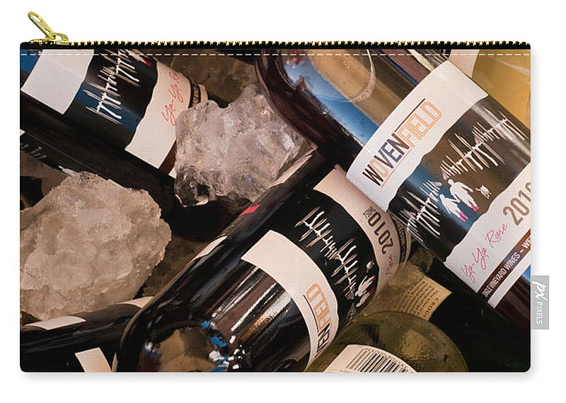Australian Carry-all Pouch featuring the photograph Australian Wine by Rick Piper Photography