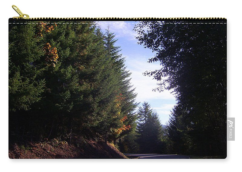 Bloom Carry-all Pouch featuring the photograph Autumn 12 by J D Owen