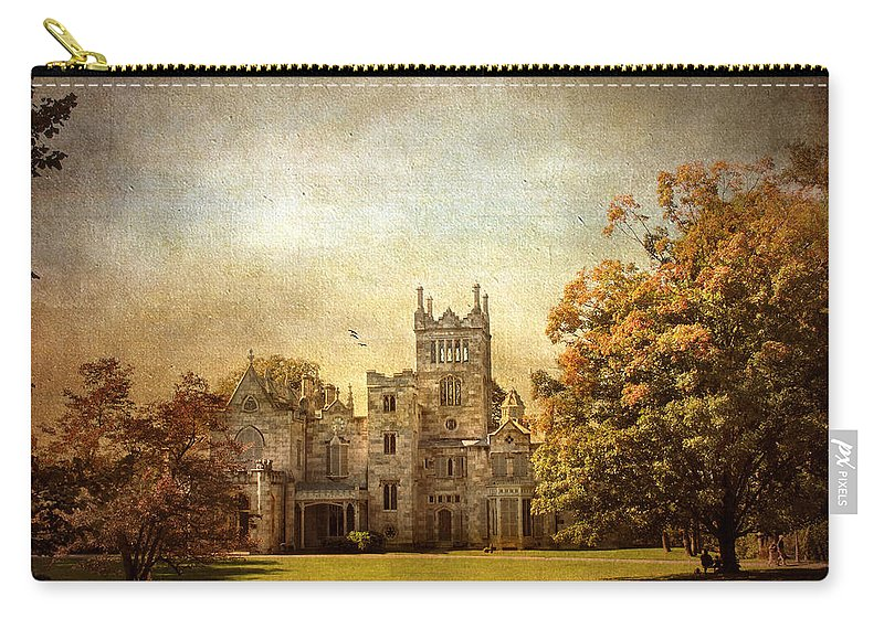 Lyndhurst Carry-all Pouch featuring the photograph Autumn At Lyndhurst by Jessica Jenney