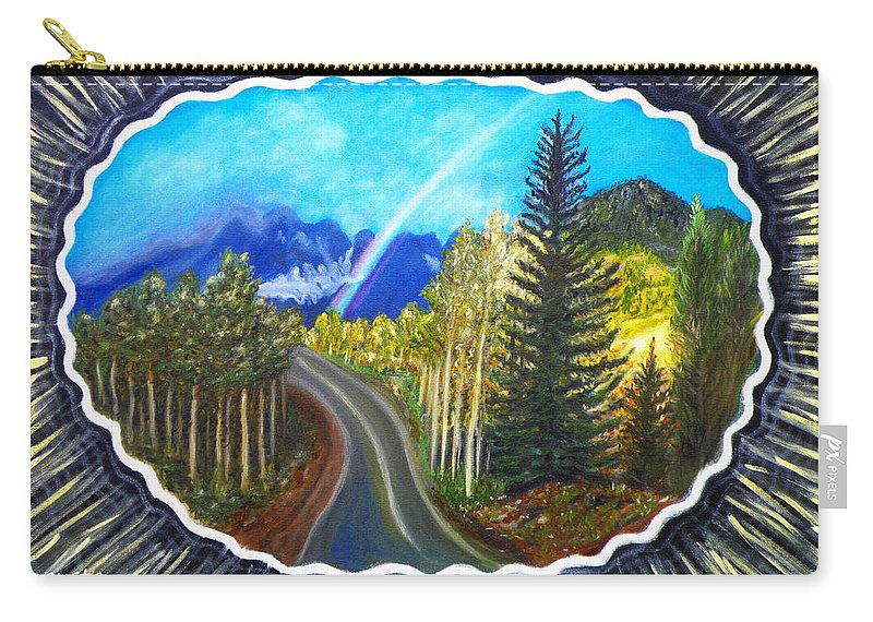 Autumn Carry-all Pouch featuring the painting Autumn by Augusta Stylianou