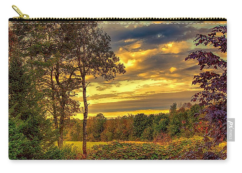 Fred Larson Carry-all Pouch featuring the photograph Autumn Colors by Fred Larson