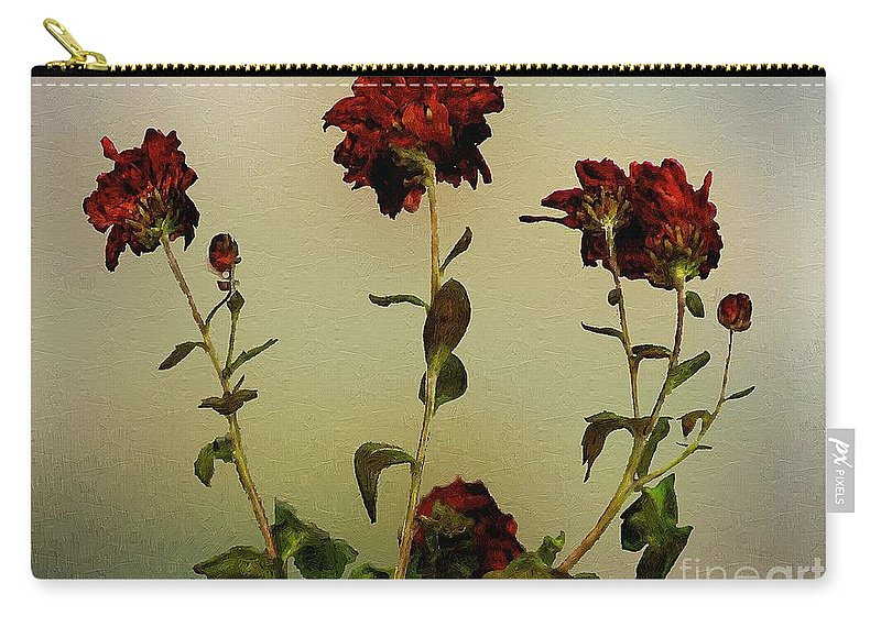 Autumn Carry-all Pouch featuring the painting Autumn Fresco by RC DeWinter