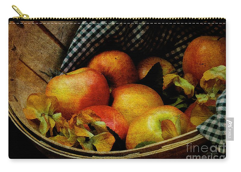 Halloween Carry-all Pouch featuring the photograph Autumn Harvest by Lois Bryan