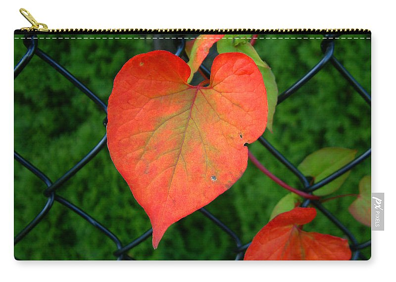 Vine Carry-all Pouch featuring the photograph Autumn In July by RC deWinter
