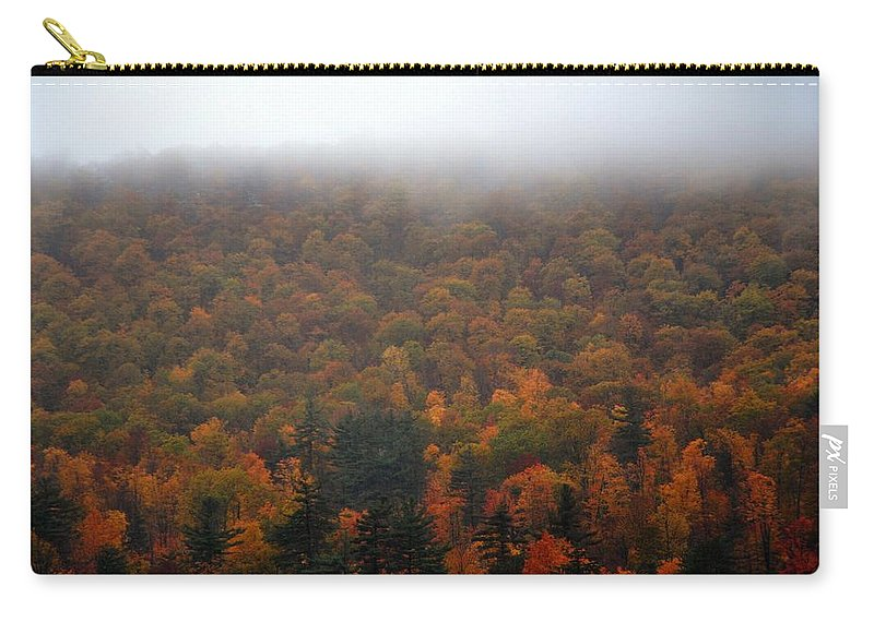 Autumn Carry-all Pouch featuring the photograph Autumn In New Hampshire by Phyllis Meinke