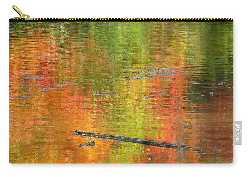 Autumn Carry-all Pouch featuring the photograph Autumn Jewel by Ann Horn