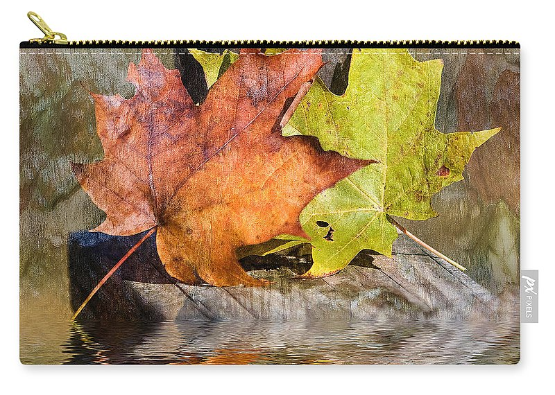 North Carolina Carry-all Pouch featuring the photograph Autumn Reflection by Stephen Warren