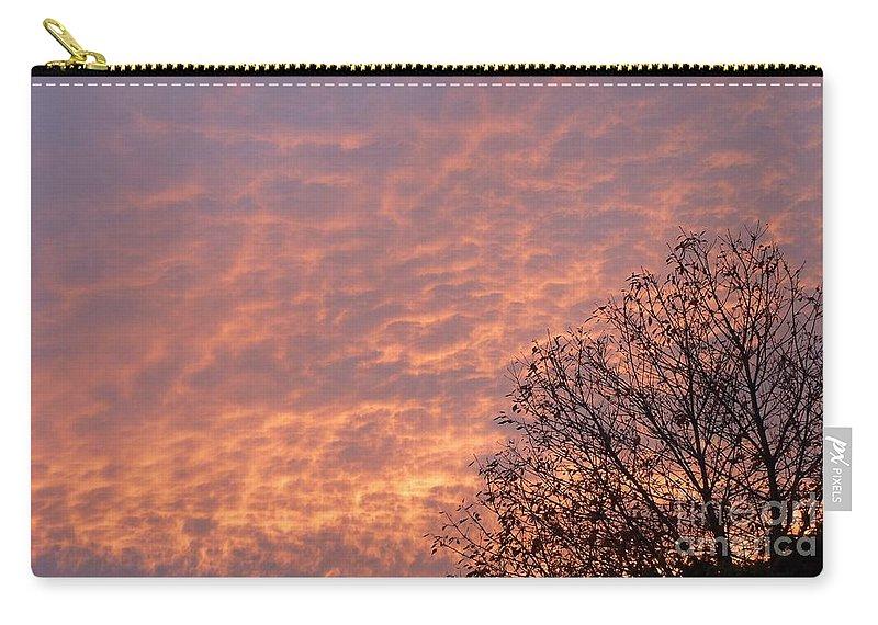 Autumn Sky Carry-all Pouch featuring the photograph Autumn Sky by Declan Leddy