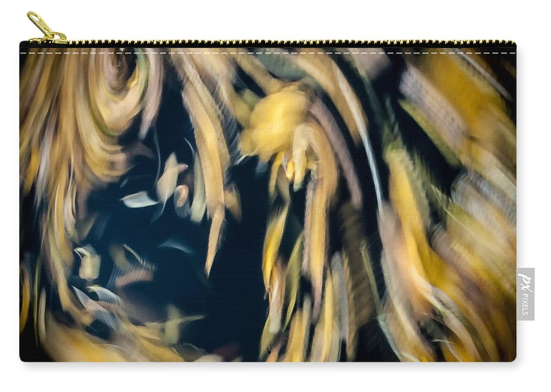 Abstract Carry-all Pouch featuring the photograph Autumn Storm by Steven Milner
