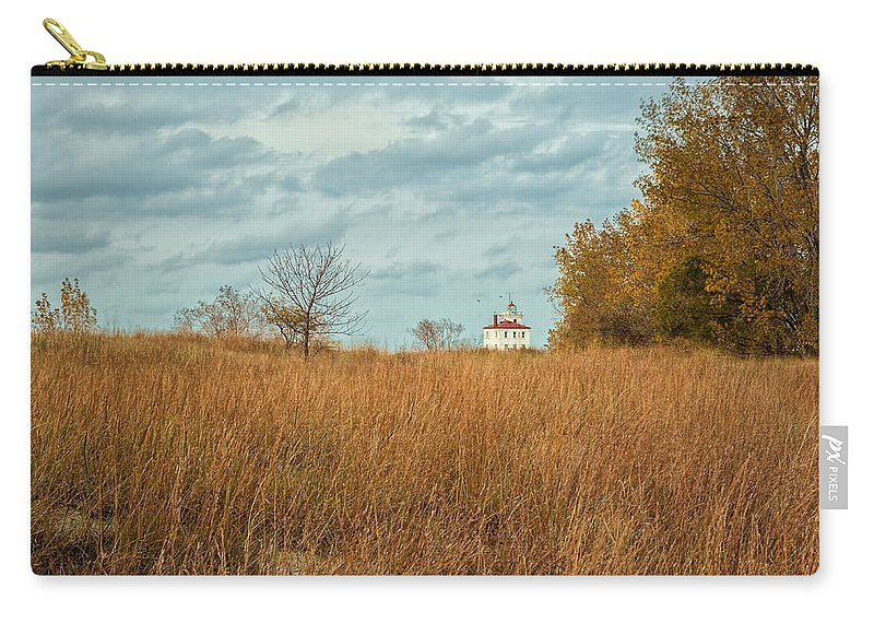 Autumn Twilight Carry-all Pouch featuring the photograph Autumn Twilight by Dale Kincaid