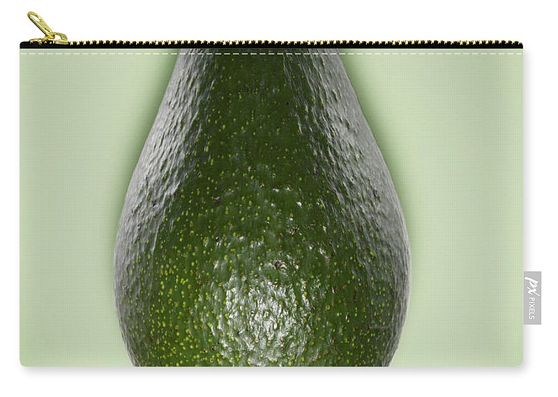 Avocado Carry-all Pouch featuring the photograph Avocado by Adrian Burke