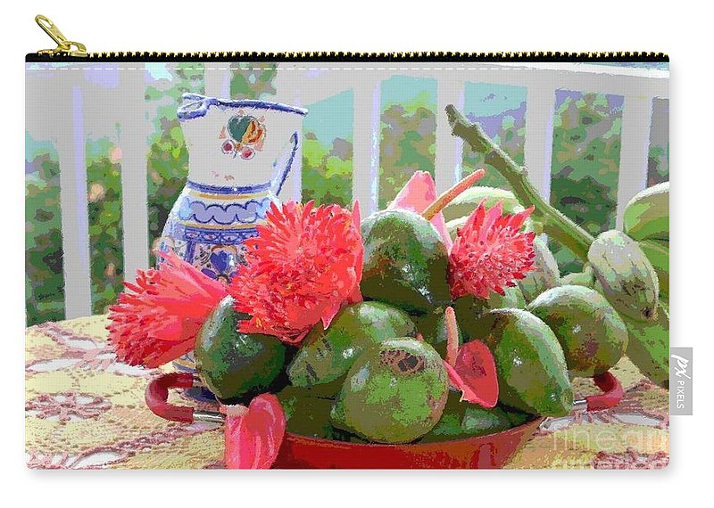 Avocados Carry-all Pouch featuring the photograph Avocados by The Art of Alice Terrill
