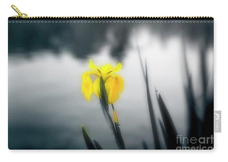 Iris Carry-all Pouch featuring the photograph Awakening by Scott Pellegrin
