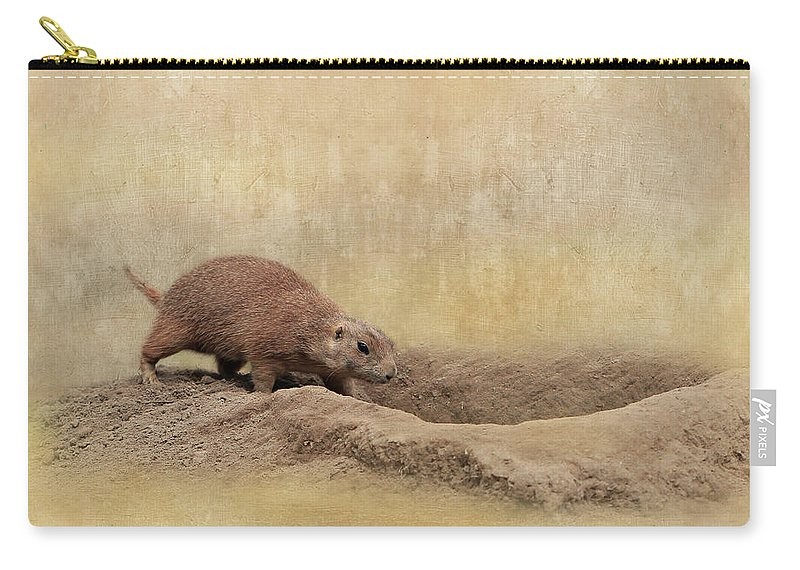 Animal Carry-all Pouch featuring the photograph Away Quickly by Heike Hultsch