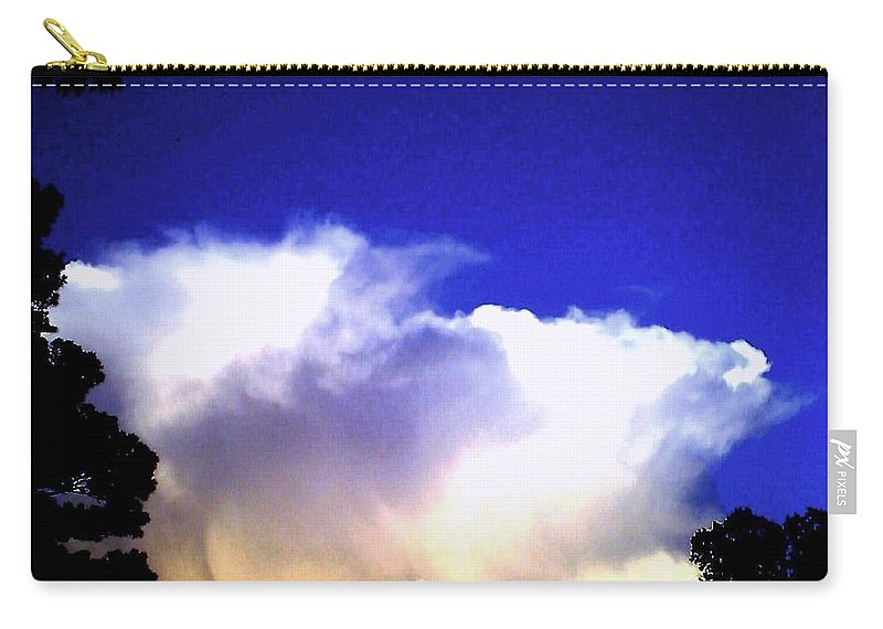 Photography Carry-all Pouch featuring the photograph Awesome God by Lynn Wood
