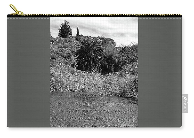 Ayer Carry-all Pouch featuring the photograph Ayer Lake 2 by Kathleen Struckle