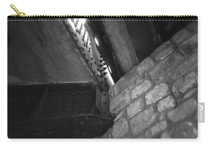 Architecture Carry-all Pouch featuring the photograph Aztec San Antonio 2013 by Shawn Marlow