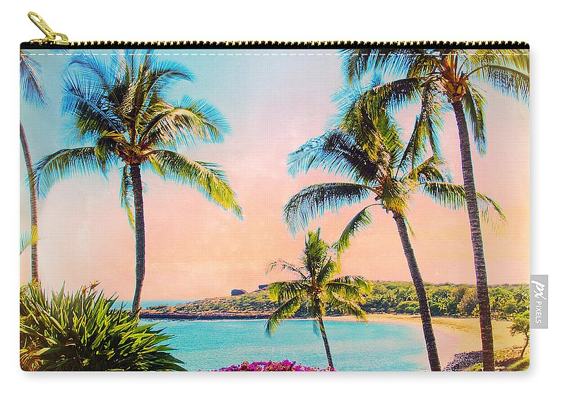 Azure Carry-all Pouch featuring the photograph Azure Blue by Dominic Piperata