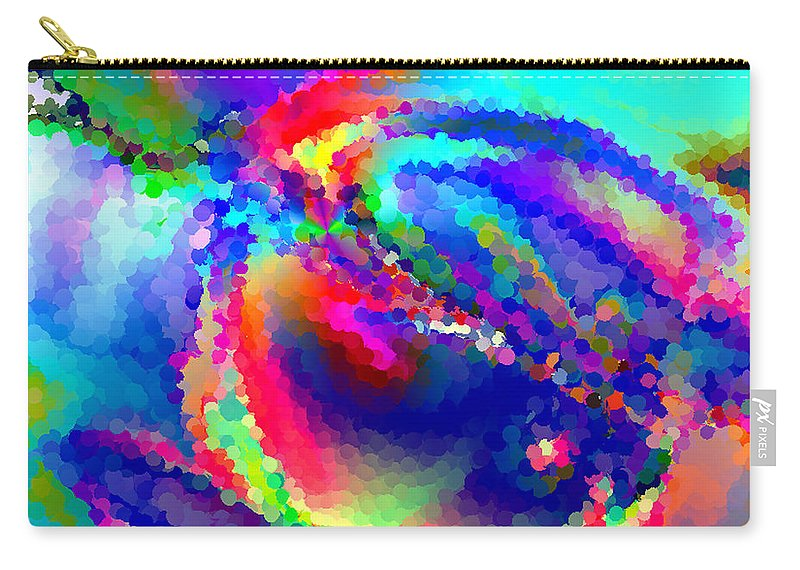 Carry-all Pouch featuring the digital art B497005 by Studio Pixelskizm