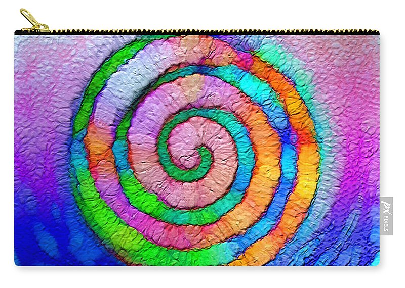 Carry-all Pouch featuring the digital art B497008 by Studio Pixelskizm