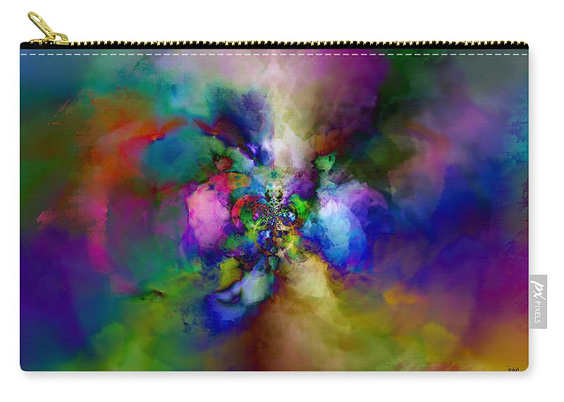 Carry-all Pouch featuring the digital art B497045 by Studio Pixelskizm