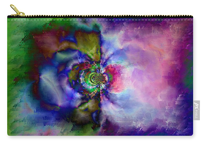 Carry-all Pouch featuring the digital art B497061 by Studio Pixelskizm
