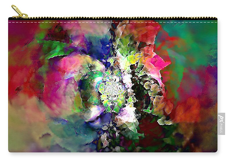 Carry-all Pouch featuring the digital art B497064 by Studio Pixelskizm