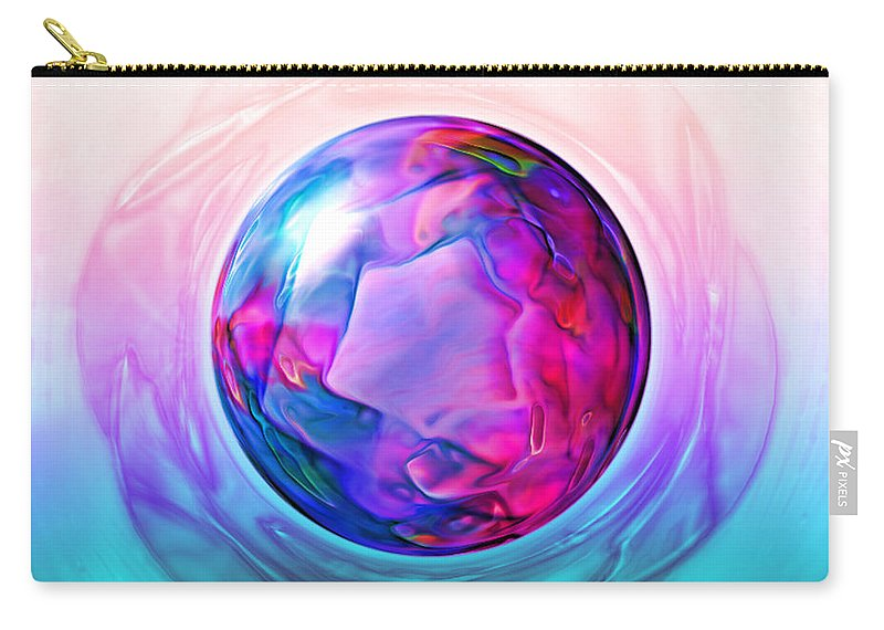 Carry-all Pouch featuring the digital art B497068 by Studio Pixelskizm